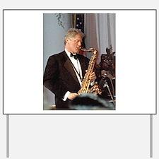 Bill Clinton Yard Sign