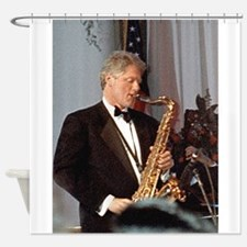 Bill Clinton Shower Curtain