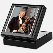 Bill Clinton Keepsake Box