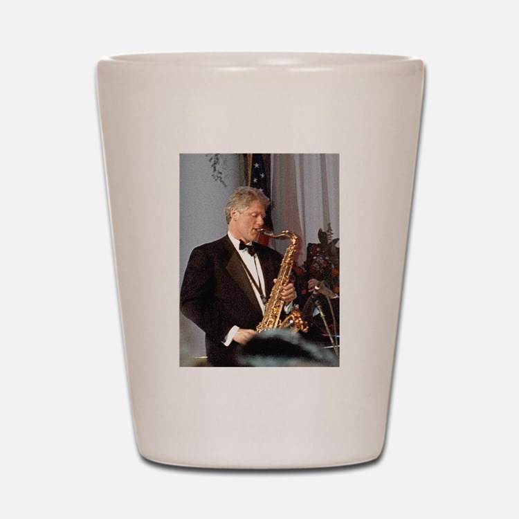 Bill Clinton Shot Glass