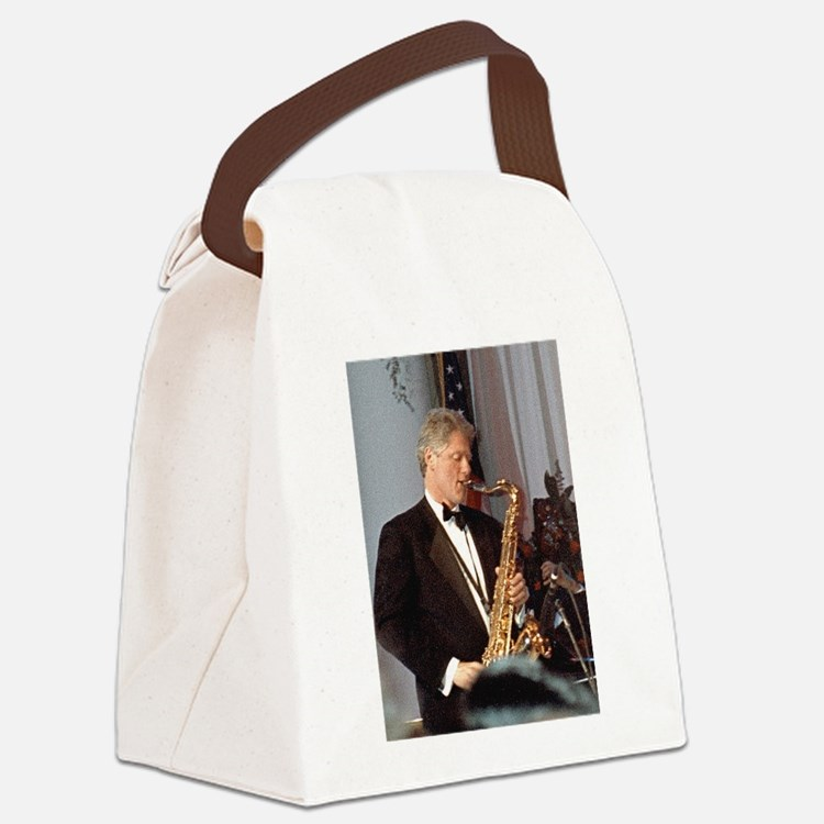 Bill Clinton Canvas Lunch Bag