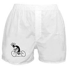 Kokopelli Road Cyclist Boxer Shorts