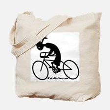 Kokopelli Road Cyclist Tote Bag