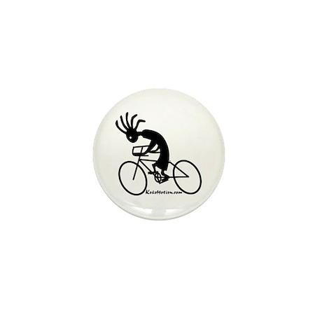 Kokopelli Road Cyclist Mini Button (10 pack)