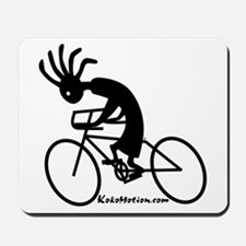 Kokopelli Road Cyclist Mousepad