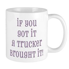 Real Women Drive Trucks Mug