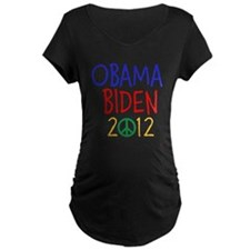 OBAMA BIDEN 2012 PEACE T-Shirt