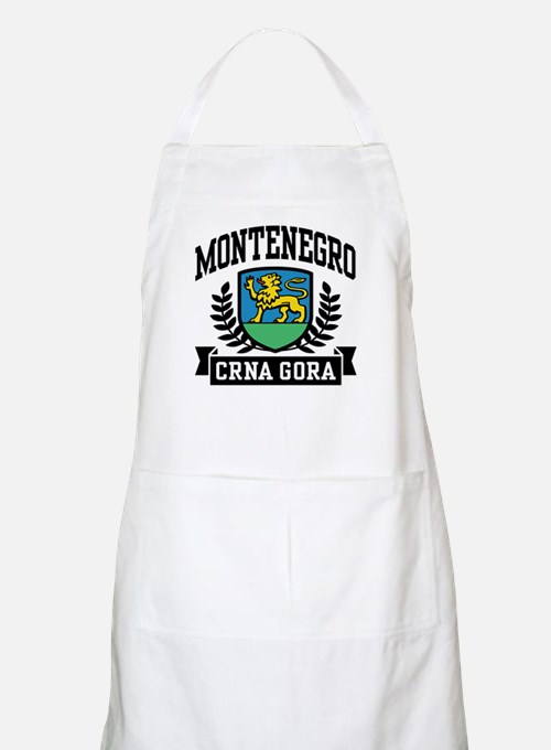 Montenegro Coat of Arms Apron