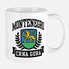 Montenegro Coat of Arms Mug