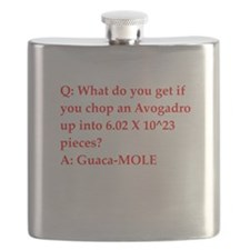 chemistry joke Flask