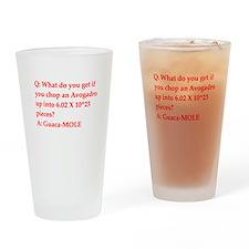 chemistry joke Drinking Glass
