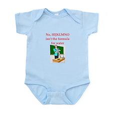 chemistry joke Infant Bodysuit
