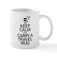 Keep Calm and Carry Travel Small Mug Small Mug