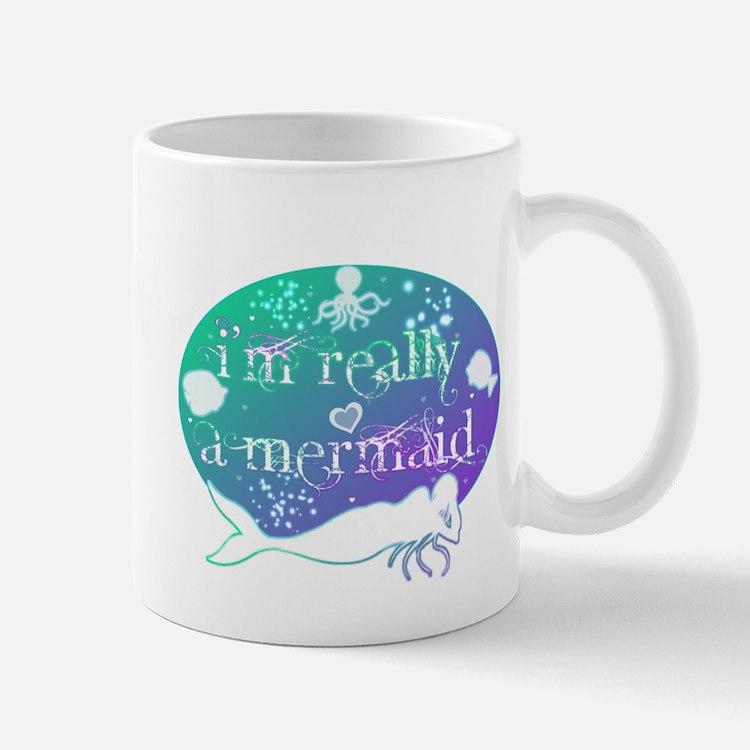 lg really a mermaid.png Mug