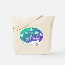 lg really a mermaid.png Tote Bag