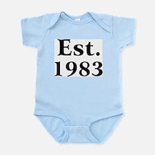 Est. 1983 Infant Creeper
