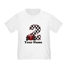 2nd Birthday Race Car T
