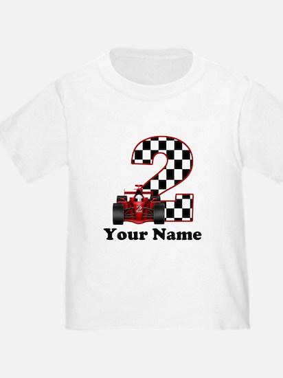2nd Birthday Race Car T