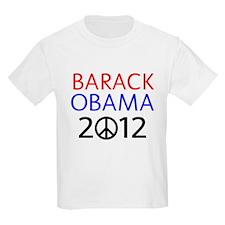BARACK OBAMA 2012 PEACE T-Shirt