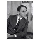 Carl sagan Wrapped Canvas Art