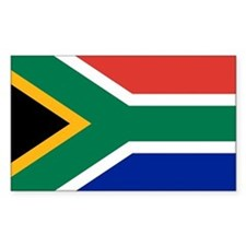 Flag South Africa Decal
