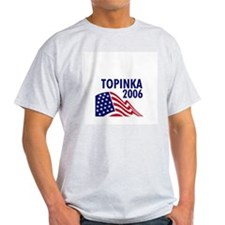 Topinka 06 Ash Grey T-Shirt