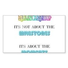 Autism - It's not about the Milestones Decal