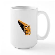 Diesel Train High Angle Retro Mug