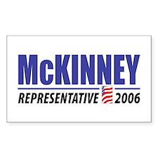 McKinney 2006 Rectangle Decal