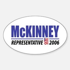 McKinney 2006 Oval Decal