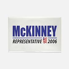 McKinney 2006 Rectangle Magnet