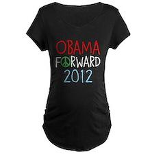 OBAMA FORWARD PEACE T-Shirt