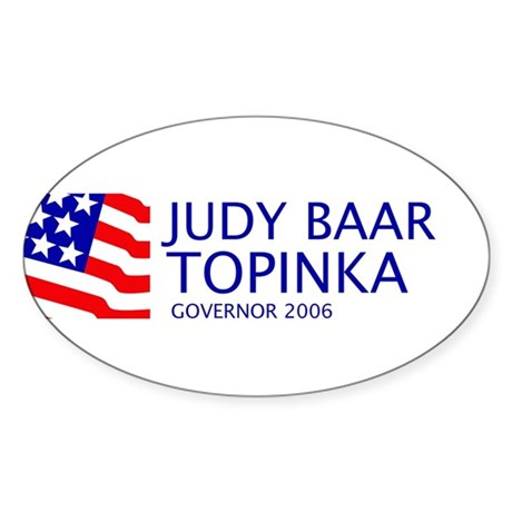 Topinka 06 Oval Sticker