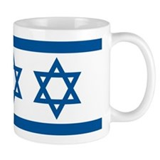Israel Flag Small Mugs