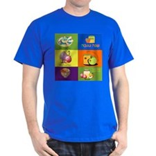 Hebrew English New Years Greetings T-Shirt