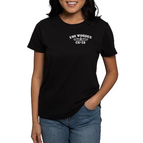 USS WORDEN Women's Dark T-Shirt