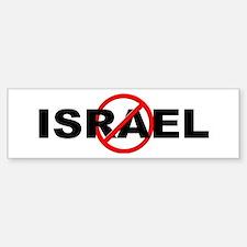 Anti / No Israel Bumper Bumper Sticker