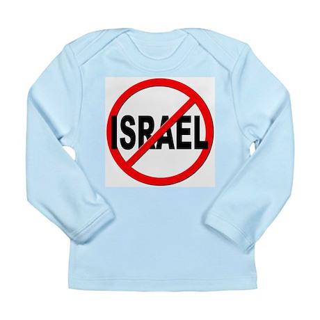 Anti / No Israel Long Sleeve Infant T-Shirt