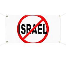 Anti / No Israel Banner