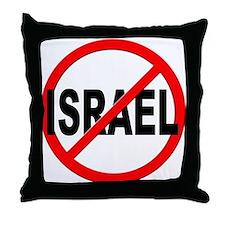 Anti / No Israel Throw Pillow