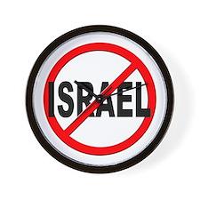 Anti / No Israel Wall Clock