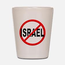 Anti / No Israel Shot Glass