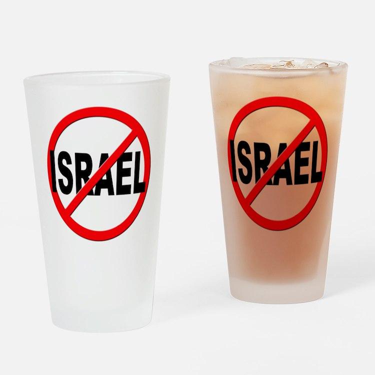 Anti / No Israel Drinking Glass