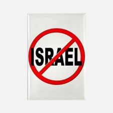 Anti / No Israel Rectangle Magnet