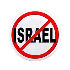"Anti / No Israel 3.5"" Button"