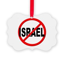Anti / No Israel Ornament
