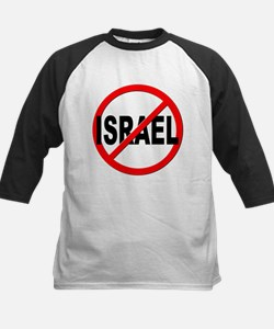 Anti / No Israel Kids Baseball Jersey
