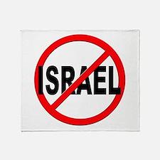 Anti / No Israel Throw Blanket