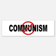 Anti / No Communism Bumper Bumper Sticker