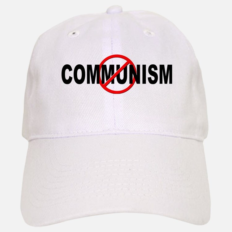 Anti / No Communism Baseball Baseball Cap